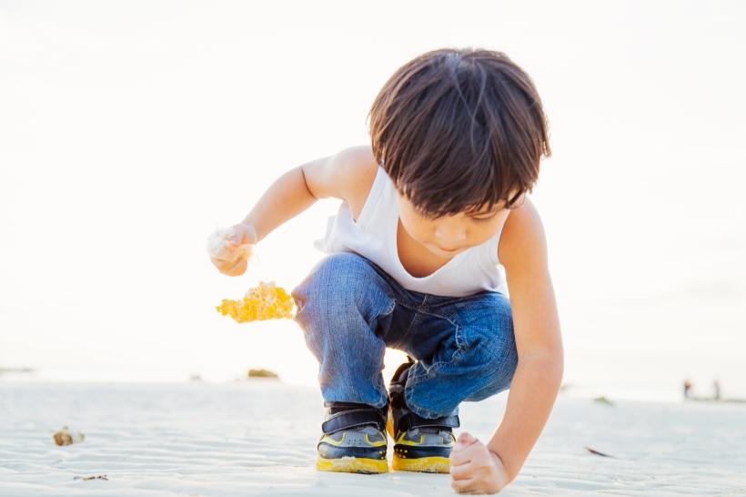 Summer, beach, parenting, boy, kid,  Loon, Bohol, Philippines, seaside, fun, childhood