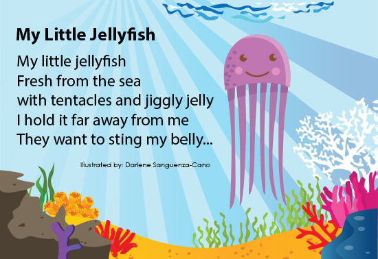 My Little Jelly Fish Poem