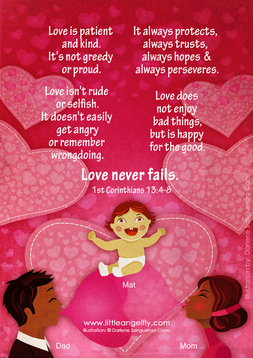 Love Never Fails 1st Corinthians 13:4-8