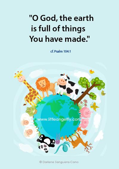 Psalm 104:1, CFA homeschooling