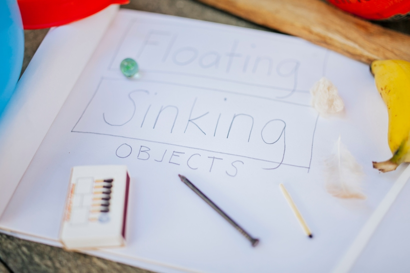 Sinking and Floating Activity